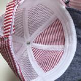 mũ vành mềm kẻ sọc nhỏ  Size: 1-12 tháng