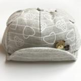mũ vành mềm đính gấu