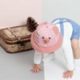mũ gấu vành tròn  Size: 2-4 tuổi (free size 50cm)