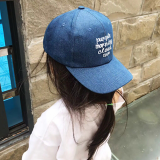 mũ lưỡi trai thêu chữ  Size: 3-12 tuổi (free size 50-54cm)