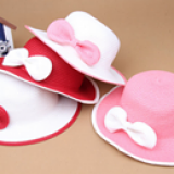 nón vành rộng gắn nơ phong cách Hàn Quốc  Size: 18 tháng tuổi trở lên(51-52cm) Xem nhiều hơn tại http://shopqua.com Hotline :098 224 2238 - 090 962 0234 (Ms. Nguyên).