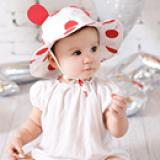 nón vành chấm bi to  Size: 9 tháng-3 tuổi(46-48cm) Xem nhiều hơn tại http://shopqua.com Hotline :098 224 2238 - 090 962 0234 (Ms. Nguyên).