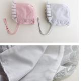 mũ công chúa nhỏ Hàn Quốc 100% cotton  Size: 5 tháng- 15tháng