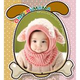 nón len liền cổ cún con, phong cách Hàn quốc  Size: trên 6 tháng