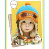 mũ nỉ phi công giữ ấm cho bé  Size: chu vi đầu 47 -52cm, 10 tháng -4 tuổi