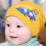 mũ thun in hình xe đua  Size: 3-24 tháng