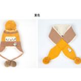 set Mũ len dệt kim Snowman Children lót nhung  Size: 5-36 tháng