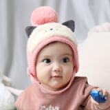 mũ len tai mèo  Size: 5-36 tháng (45-51cm)