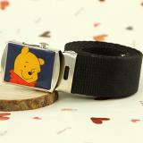 Dây lưng gấu Pooh( hàng xuất Châu Âu)  Size: free size