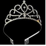 vương miện công chúa số 3-Hàng Handmade tinh xảo, với nguyên phụ liệu nhập từ HQ,Hàng xuất HQ.  Size: trên 1 tuổi