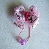 cột tóc nơ hồng kitty- Handmade