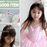 vương miện nữ hoàng-Hàng Handmade tinh xảo, với nguyên phụ liệu nhập từ HQ,Hàng xuất HQ.  Size: trên 1 tuổi