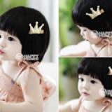 Kẹp tóc vương miện nhỏ Hàn Quốc hiệu Happy prince