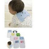 khăn thấm mồ hôi lưng, tạo cảm giác dễ chịu thoải mái khi bé ngủ hay chơi, thuận tiện cho mẹ khi thay,chất liệu vải bông mềm mịn  Size: 26 x 19cm(không tính phần con thú lật ra ngoài áo)
