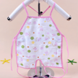 yếm tạp dề giữ ấm phần ngực và bụng cho bé , không lo các bé bị tung áo hở bụng khi ngủ hoặc không chịu đắp chăn Chất liệu 100% cotton mềm mịn  Size: 50*70cm, 0-12 tháng