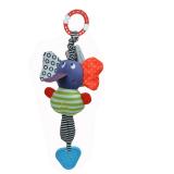Đồ chơi thú bông có phát âm thanh  là đồ chơi sơ sinh đem lại nhiều lợi ích phát triển tối đa giác quan, kích thích sự tò mò tự nhiên của bé cũng như đem niềm vui đến cho các bé. Sản phẩm làm từ chất liệu vải an toàn tuyệt đối, các mẹ có thể hoàn toàn yên tâm khi bé đùa ngịch với bạn hươu cao cổ.   Đặc điểm nổi bật đồ chơi thú bông : -   Được làm từ chất liệu vải băng lông siêu mịn, siêu mềm cực kỳ êm ái cho làn da non nớt nhạy cảm. Bé có thể vuốt ve, ôm bạn voi vào lòng mà không lo bị kích ứng da hay ảnh hưởng đến sức khỏe. - Sản phẩm là đồ chơi vải có độ bền cao cho bé chơi thoải mái mà không lo bị hỏng, giá thành rất hợp lý nữa. - Nếu bạn đang chọn quà tặng cho bé trong những dịp sinh nhật, đầy năm, trung thu, tết thiếu nhi...thì thú bông Tolo là một sự lựa chọn đúng đắn. Đồ chơi thú bông  được thiết với nhiều công dụng tuyệt vời. - Khi em bé vừa mới lọt lòng, mọi thứ bé nhìn thấy chỉ là màu đen và trắng. Đây là lý do mà đồ chơi thú bông Tolo đem đến một chú voi đầy màu sắc giúp cân bằng ánh sáng, sự tương phản giúp bé sớm phân biệt được màu sắc kích thích thị giác phát triển.   - Bạn voi có cơ thể mềm mại, bên trong làm bằng bông êm giúp bé có hứng thú vui chơi và ôm ấp, nâng niu thú bông.  - Đôi chân co giãn thoải mái đầy màu sắc, họa tiết đường nét rích rắc, ô vuông...giúp bé tăng khả năng tư duy logic.  Bé có thể ngậm nướu chiếc vòng chân khi ngứa lợi.  Chiếc móc trên cùng vô cùng tiện lợi có thể dùng để treo cũi, xe đẩy trẻ em, ghế ngồi ô tô, thảm trẻ em....đồ chơi thú bông Tolo luôn sẵn sàng ở bên bé bất cứ đâu.  Hàng xuất khẩu châu Âu,Mỹ  Size: thương hiệu Tolo
