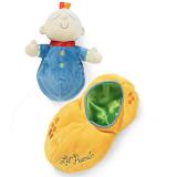 đồ chơi búp bê hiệu Manhattan    The Princess and the Pea  là một trong những đồ chơi đồ chơi Manhattan bán chạy nhất . Mềm mại, sang trọng, thêu ren tinh tế, rất thích hợp để đi cùng với bé vào giấc ngủ. Đây là món đồ chơi có thể dỗ dành bé , truyền cảm hứng và phát triển trí tưởng tượng của bé. Tuyệt đối an toàn, không độc hại, trong sáng và đáng yêu, và những đồ chơi là dễ dàng để làm sạch.  Size: vỏ đậu33 cm, búp bê 24 cm