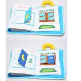 Chào mừng bạn đến khám phá cuốn sách vài Goodnight- đồ chơi giáo dục ★ Lứa tuổi: 0+ ★ cuốn sách mô phỏng các hoạt động của bé trước khi đi ngủ - uống sữa - tắm - chải răng - phân biệt sáng, tối - lên giường đi ngủ - Tập nhìn và nhận diện màu sắc, chi tiết Bạn có thể treo món đồ chơi này trên xe đẩy em bé để bé của bạn có thể chơi trong lúc được đẩy đi dạo! Hàng xuất khẩu châu Âu. Sách vải rất dễ giặt sạch, mẹ nên thường xuyên vệ sinh để bé được chơi khỏe mạnh nhé! +++ Gấu có thể tháo rời  Size: 18,5 * 23.5cm,
