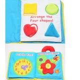 Chào mừng bạn đến khám phá cuốn sách vài - đồ chơi giáo dục ★ Lứa tuổi: 0+ ★ cuốn sách giúp bé nhận biết được các hoạt động, động tác hàng ngày của bé - phân biệt màu sắc, hình dạng các vật - cột dây giày - kéo khóa - xem giờ -  gài dây nịt... - Tập nhìn và nhận diện màu sắc, chi tiết Bạn có thể treo món đồ chơi này trên xe đẩy em bé để bé của bạn có thể chơi trong lúc được đẩy đi dạo! Hàng xuất khẩu châu Âu. Sách vải rất dễ giặt sạch, mẹ nên thường xuyên vệ sinh để bé được chơi khỏe mạnh nhé! +++ Gấu có thể tháo rời  Size: 18,5 * 23.5cm,