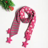 khăn ngôi sao sọc sài phong cách Hàn Quốc  Size: dài 145cm, rộng 17cm