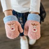 Găng tay hươu Noel cho bé.  Size: 4-10 tuổi