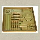 Bộ xếp hình XD 108 chi tiết Gồm 108 chi tiết là các khối hình học đa dạng. Bằng gỗ phủ bóng  Size: 36 x 36 x 5 cm