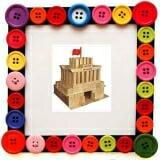 Bộ xếp hình XD lăng bác Bộ đồ chơi  xếp hình Lăng Bác giúp kích thích tư duy sáng tạo và đôi bàn tay khéo léo của trẻ, Phát triển tư duy logic từ suy luận hình ảnh, tăng khả năng nhận biết môi trường xung quanh... 104 chi tiết bằng gỗ phủ bóng  Size: 37 x 37 x8 cm