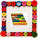 Bộ xếp hình XD 24 chi tiết sơn màu. Gồn 24 chi tiết sơn màu  Size: 21 x 12 x 3 cm.