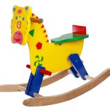 Bằng gỗ sơn màu, phù hợp với trẻ từ 36 tháng tuổi trở lên. Ngựa gỗ bập bênh cho bé tăng cường vận động một cách hiệu quả nhất. Tăng cường sự phối hợp giữa tay - mắt, rèn luyện sự khéo léo và linh hoạt cho bé yêu. Bé có thể chơi cùng bạn bè, anh em, học được cách chia sẻ, nhường nhịn lẫn nhau. Bé vận động thường xuyên sẽ ăn ngủ tốt hơn, quá trình trao đổi chất diễn ra nhanh hơn.  Size: 85 x 29 x 65 cm